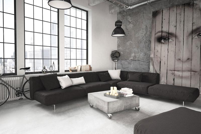Wohnzimmer – 3D Interior