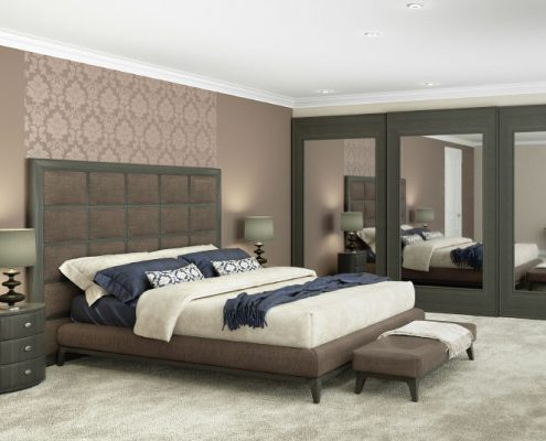 3D-Modell Schlafzimmer